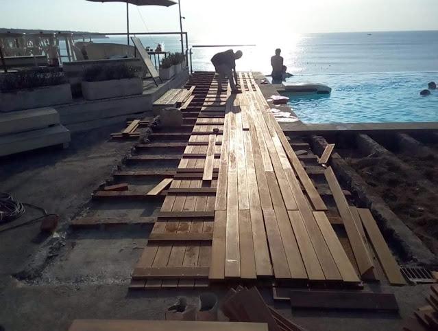 kayu merbau untuk dermaga