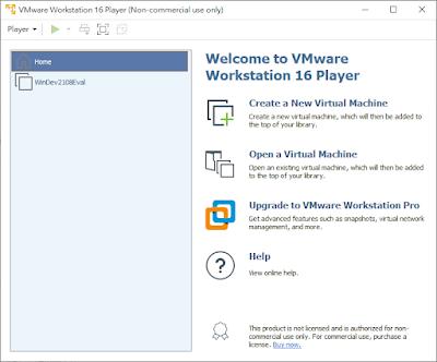 VMware Workstation Player