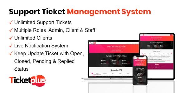 TicketPlus - Support Ticket Management System Download