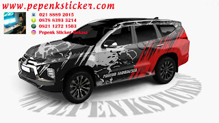 Sticker pajero sport 2021