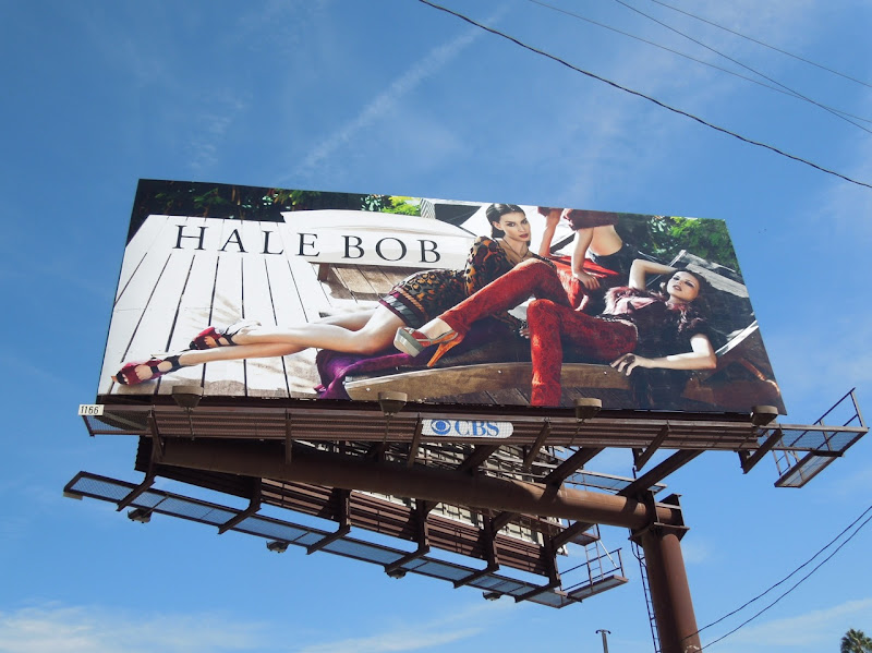 Hale Bob sun lounger billboard