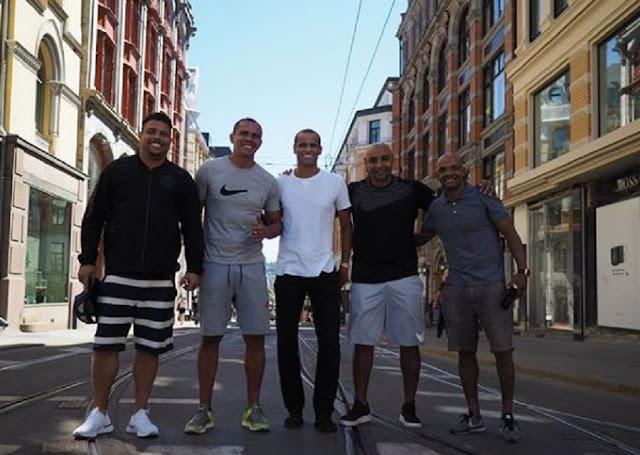 Ρονάλντο, Τζιοβάνι, Ριβάλντο στους δρόμους του Όσλο! (pics)