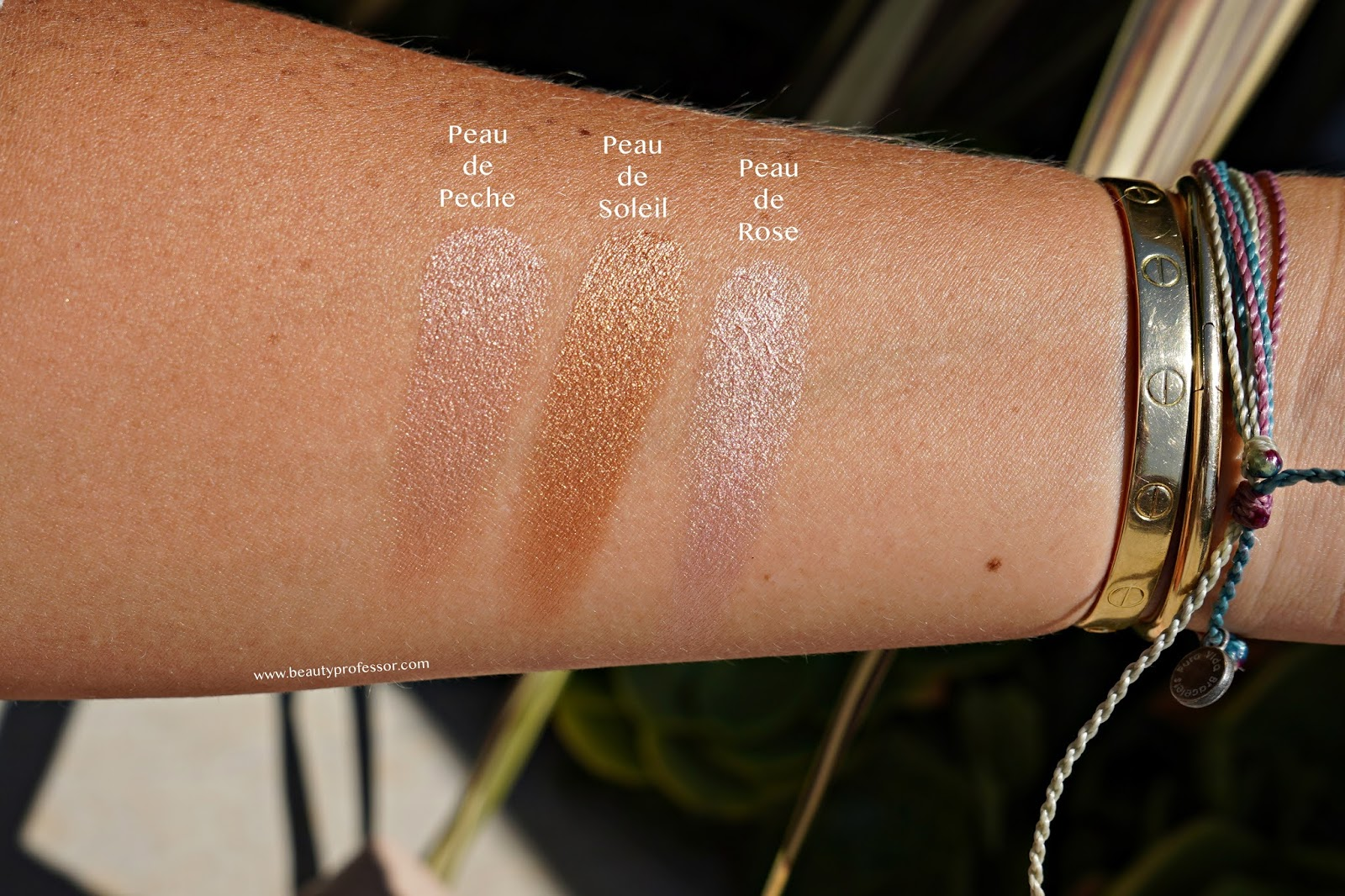 Westman Atelier Superloaded Tinted Highlight swatches
