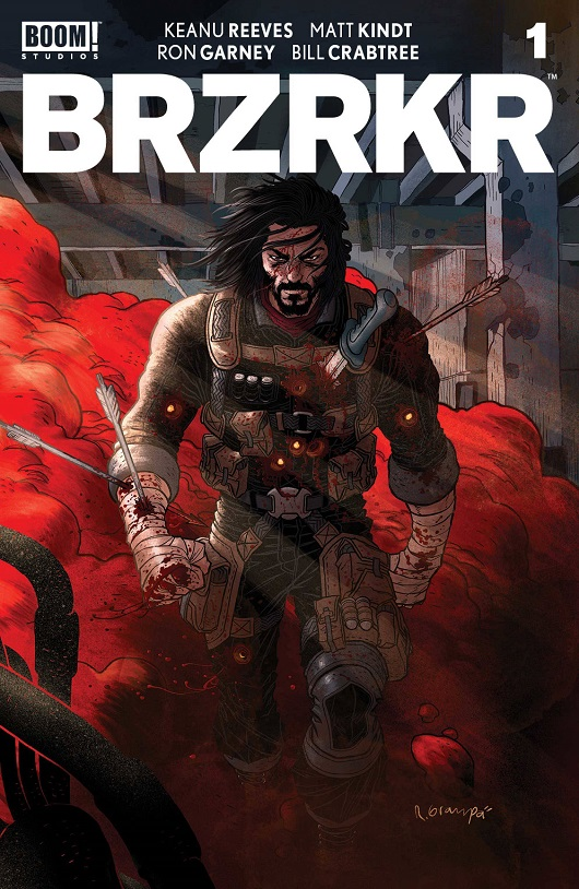 Cover of BRZRKR #1