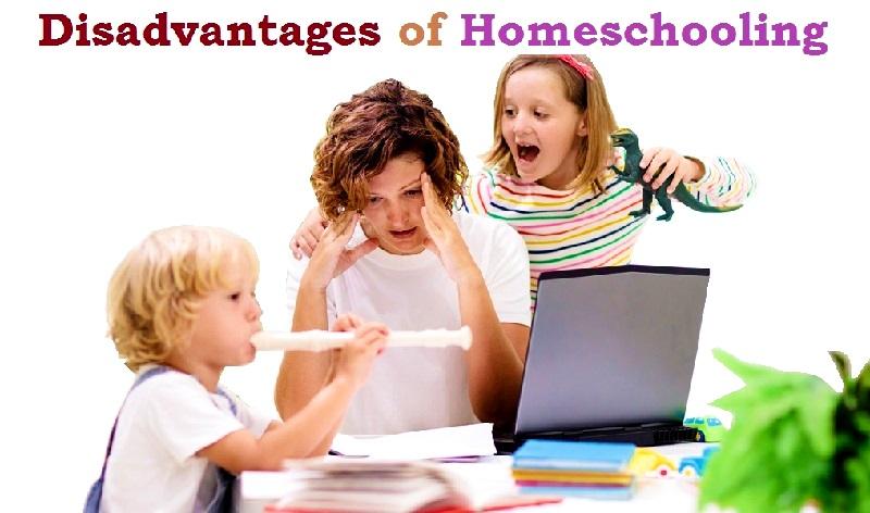 Disadvantages of Homeschooling