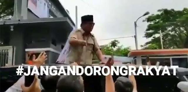 Valid! Video Viral Prabowo Marah karena Tak Tega Melihat Rakyat Diperlakukan Kasar