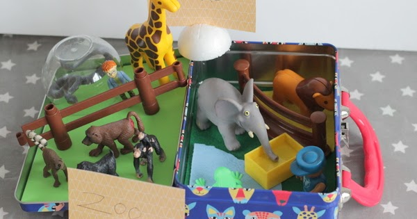 Zoo Small World Busy Box Play And Learn Every Day