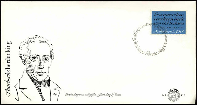 Netherlands - 1972 Thorbecke First Day Cover