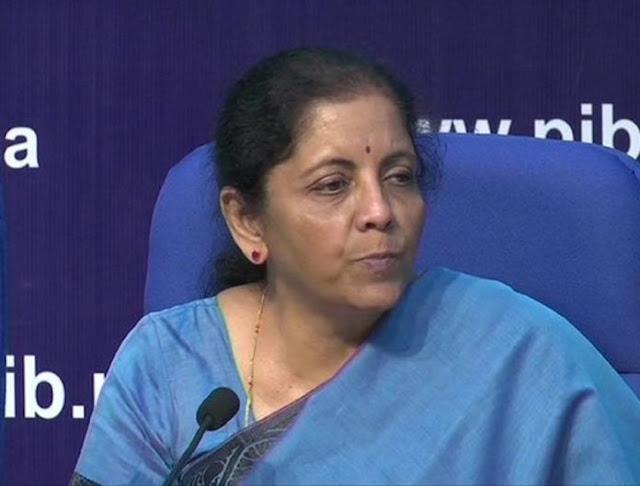 20 लाख करोड़ रुपए में से जानिए वित्त मंत्री निर्मला सीतारमण ने किसको कितनी मदद दी