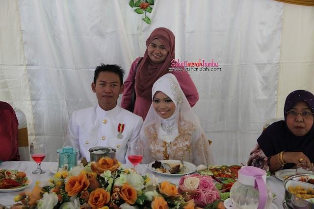 Happy Wedding CikPuan jijah dan Mr Navy. Congrats!