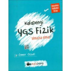 Kafa Dengi YGS Fizik Olmazsa Olmaz Soru Bankası (2017)