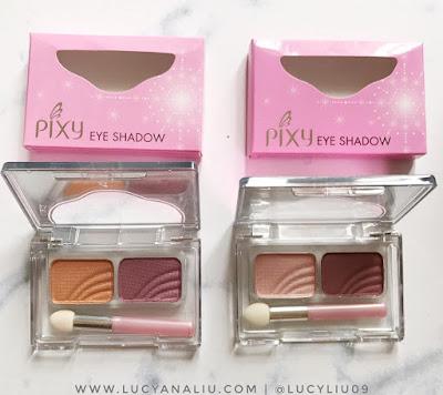Pixy Eye Shadow review