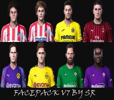 PES 2020 Facepack V7 by SR