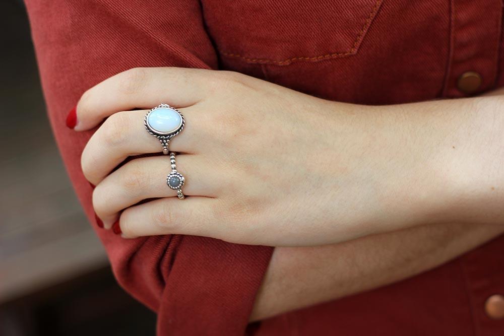 Pandora June birth stone ring