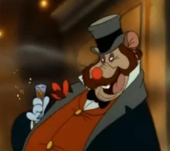 Drunk Honest John An American Tail animatedfilmreviews.filminspector.com