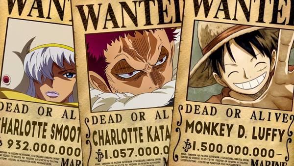 daftar bounty tertinggi di One Piece