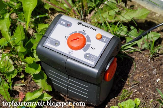 Bodenfeuchtesensor von Gardena - Gartenblog Topfgartenwelt