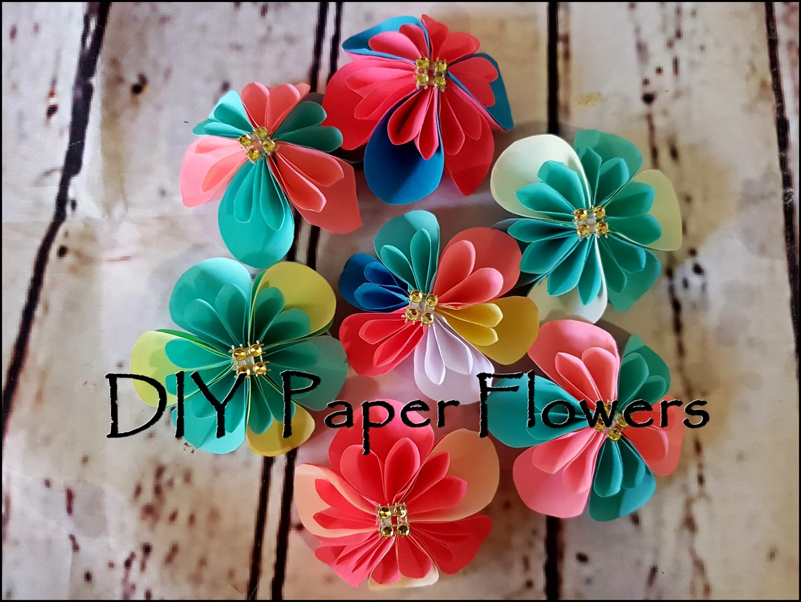 Diy paper flowers aaichi savali paper flowers are the perfect touch to any event gift or home decor piece they wont die because they were never alive to begin with and your colors mightylinksfo