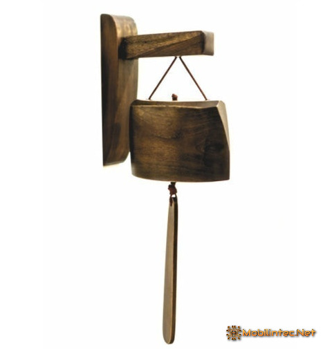 House Bell From Teak Wood