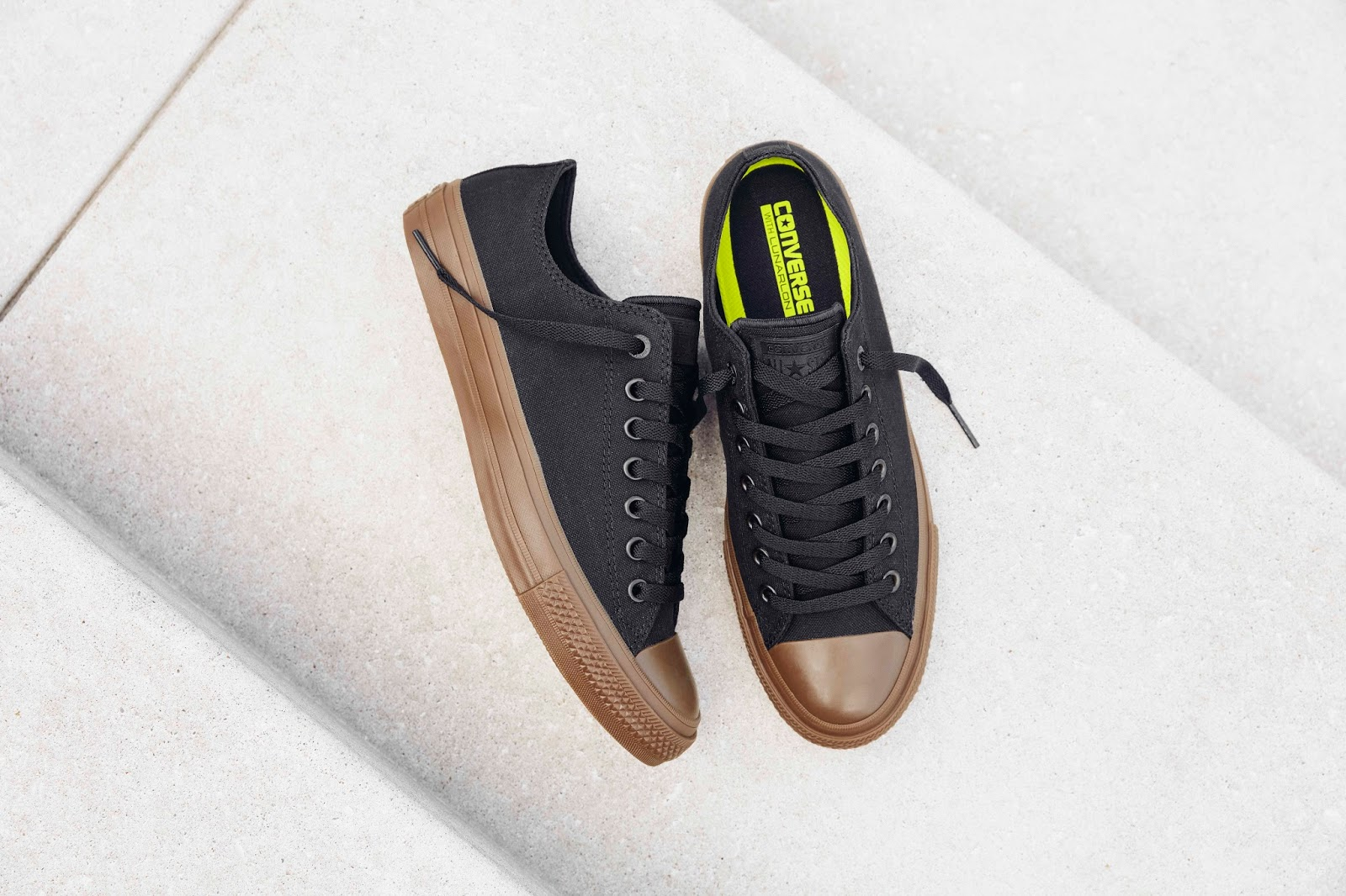 Converse Spring Summer 2017 Sneaker Collection Randomly Candid Ct Ii Low Chuck Taylor All Star Gum A Twist On Classic Comfort