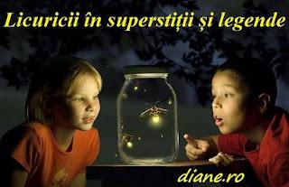 Licuricii în superstiții și legende