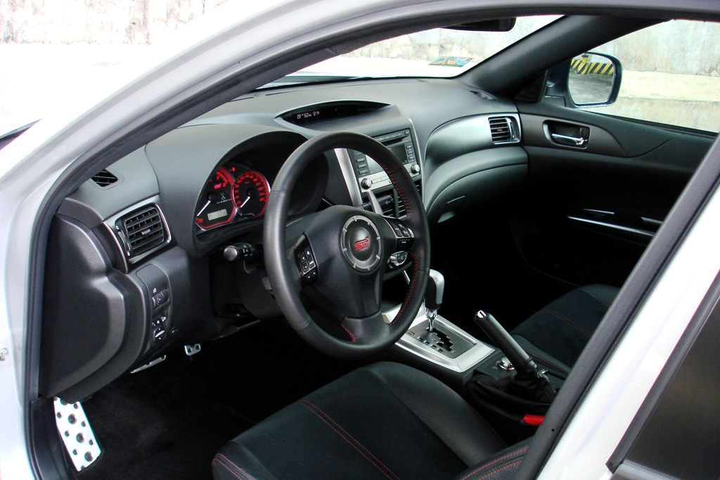 Subaru wrx sti automatic