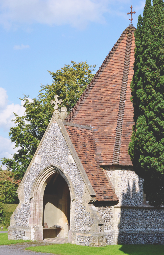 Mortuary chapels in Odiham Cemetery