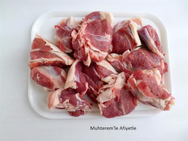 Elbasan tavalık kuzu eti