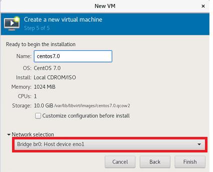 How to configure Linux KVM bridge on Ubuntu 18 04 LTS ?