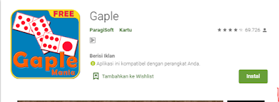 Game Gaple Offline Android