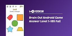 Kunci Jawaban Brain Out Game Android 1 - 185 Lengkap
