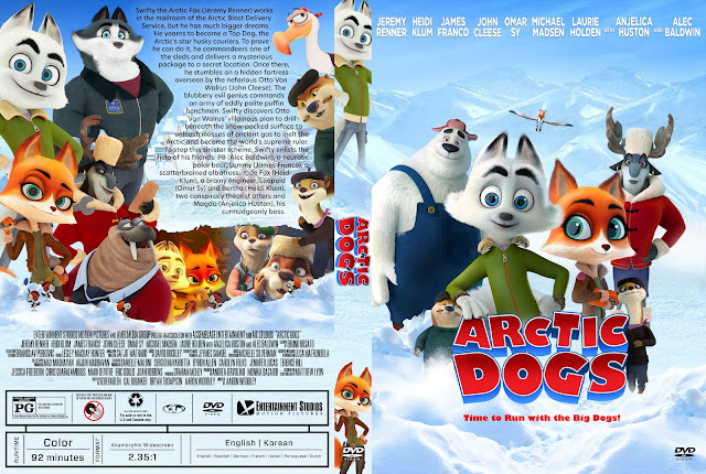 Arctic Dogs (Arctic Justice) DVD Cover