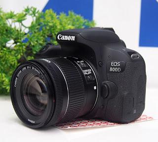 Canon EOS 800D + 18-55 STM