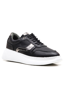 bayan siyah sneaker