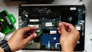 cara pasang ssd di laptop sendiri