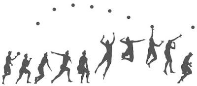 pjok permainan bola voli