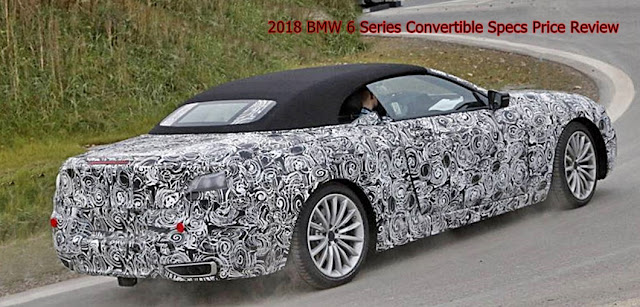2018 BMW 6 Series Convertible Specs Price Review