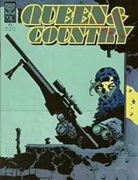 Queen & Country Comic