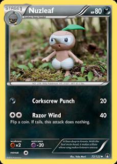 Nuzleaf BREAKpoint Pokemon Card