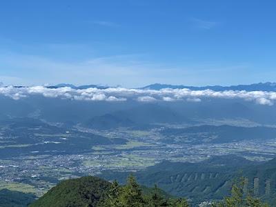 霧ヶ峰・中央アルプス・美ヶ原・御嶽山