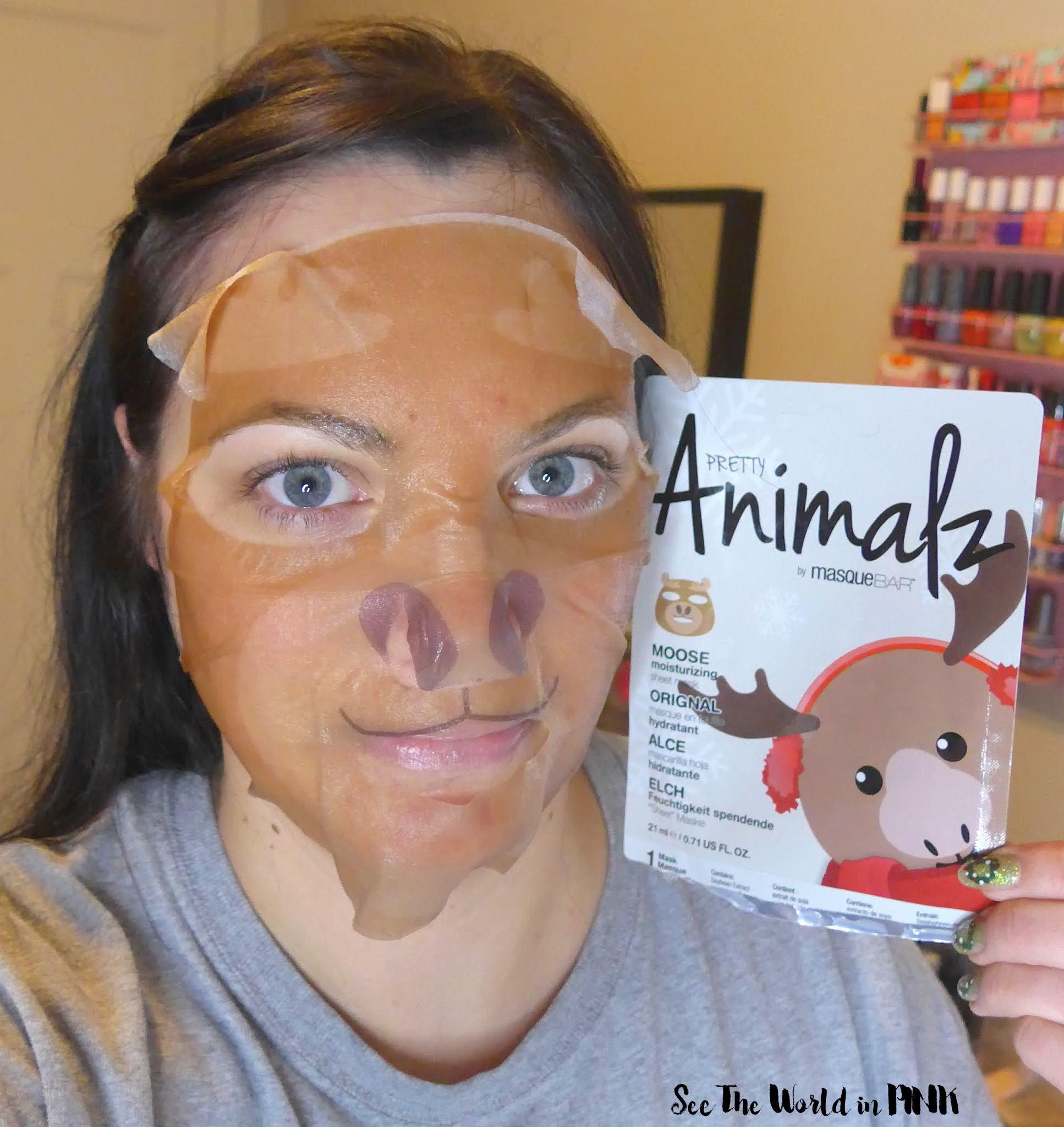 Skincare Sunday - Masque Bar Christmas Sheet Masks