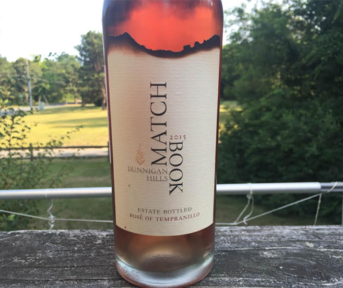 Matchbook Dunnigan Hills 2015 Rosé of Tempranillo