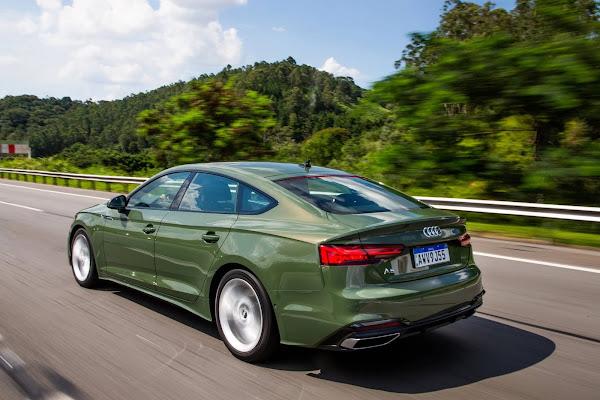 Novo Audi A5 Sportback 2022 chega ao Brasil - fotos e preços