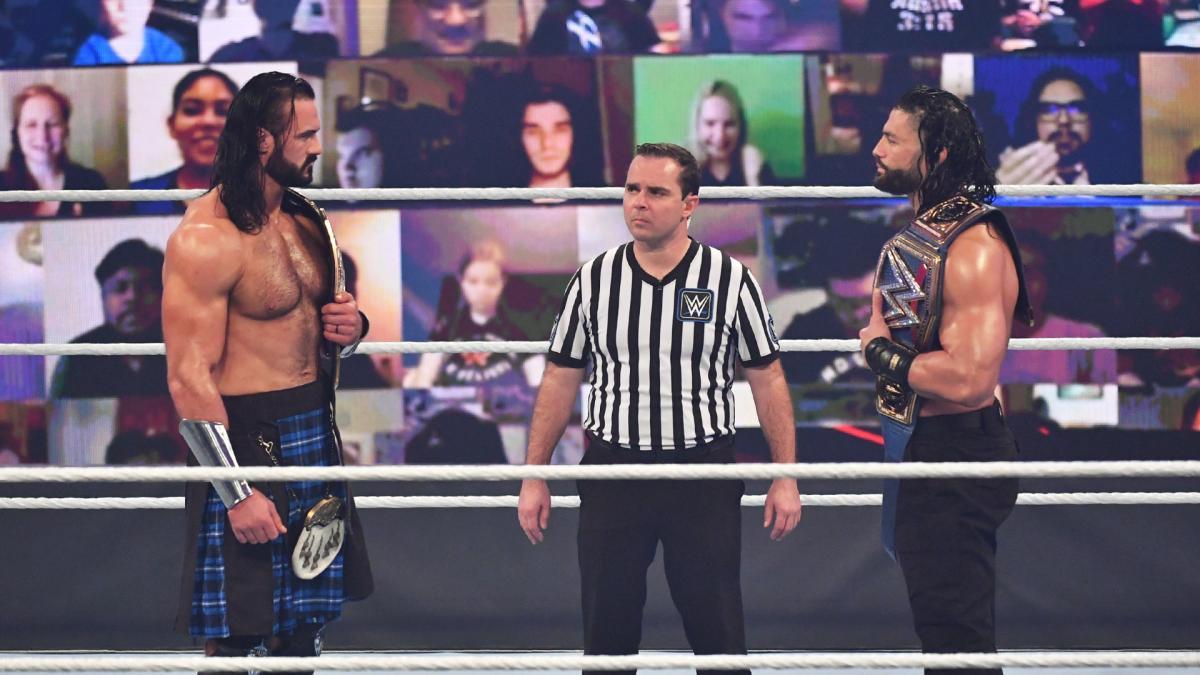 Eric Bischoff diz que Drew McIntyre e Roman Reigns nunca serão as faces da WWE
