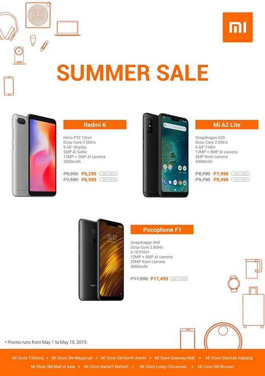 Get the Pocophone F1 (128GB) at Discounted Price with Xiaomi's Hot Summer Sale