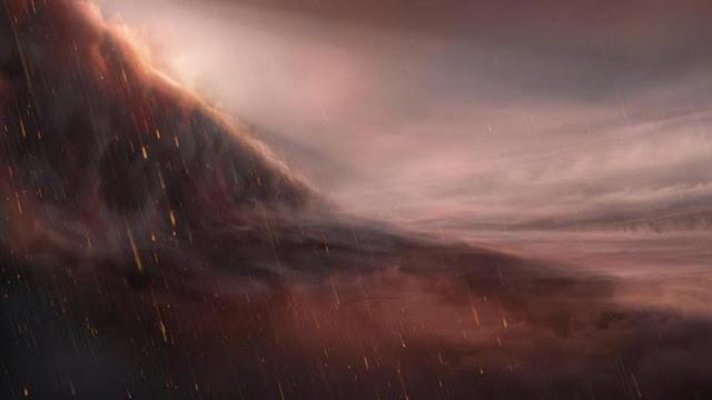 Descubren un exoplaneta ultracaliente donde llueve hierro