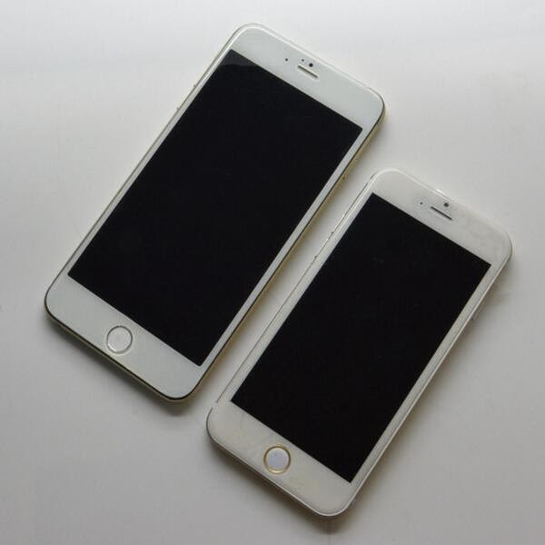 4 7 inch iphone 4 7 inch and 5 5 inch iphone 6 model depicted in new 10011