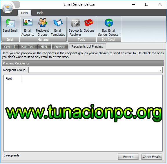 Descargar Kristanix Software Email Sender Deluxe