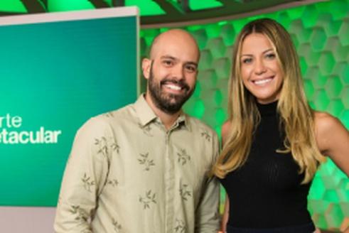 Bárbara Coelho e Lucas Gutierrez