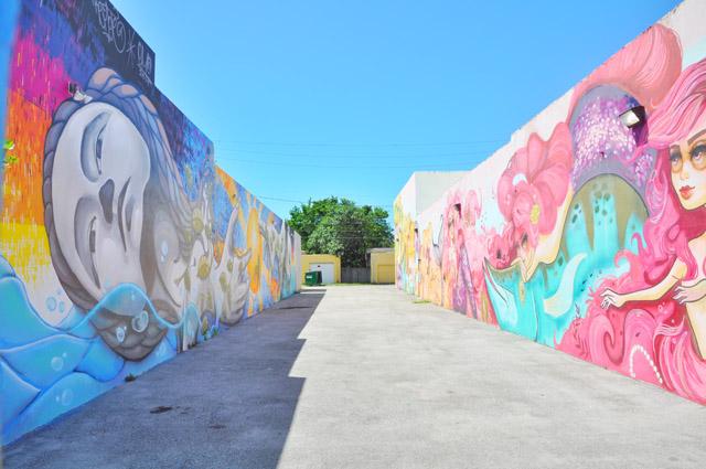 The Graffiti Wall Art Of Hollywood Florida Fashion Foie Gras